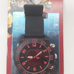 Watch New Transformers Analog Black & Red.